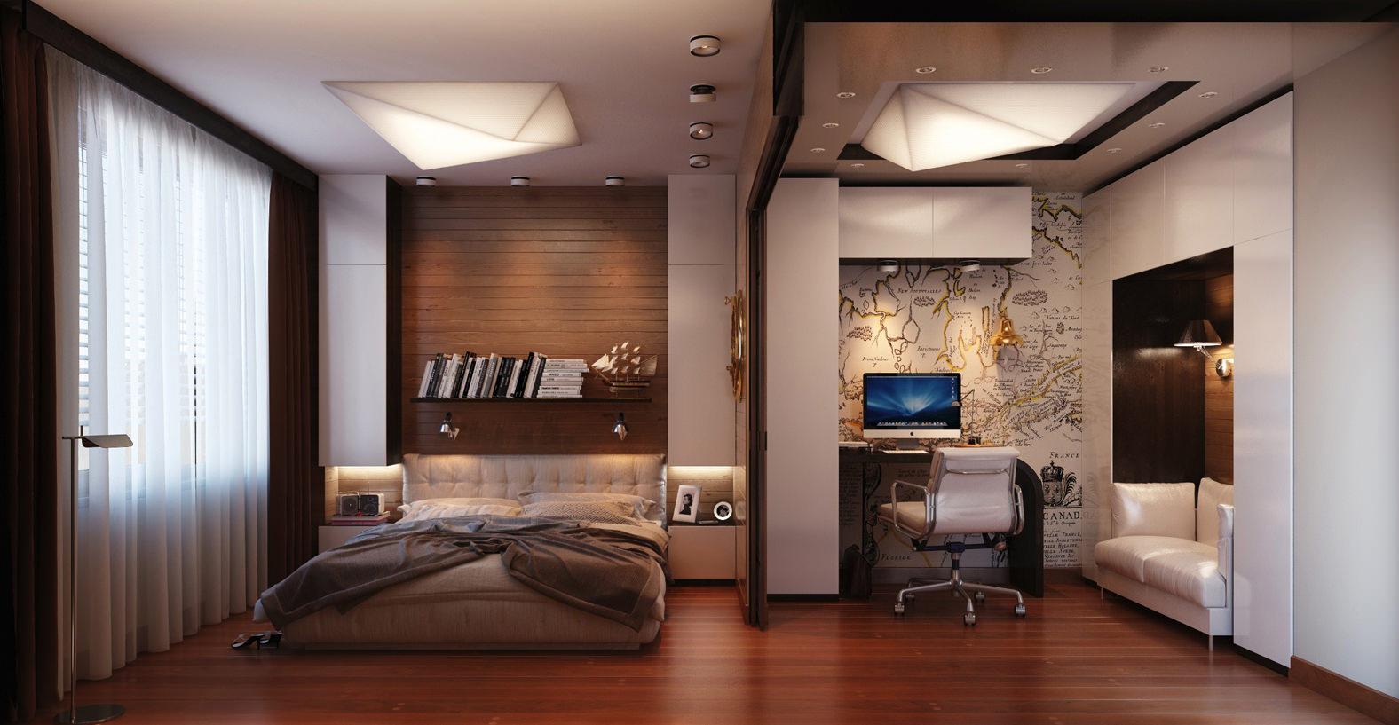 зонирование в квартире дизайн фото